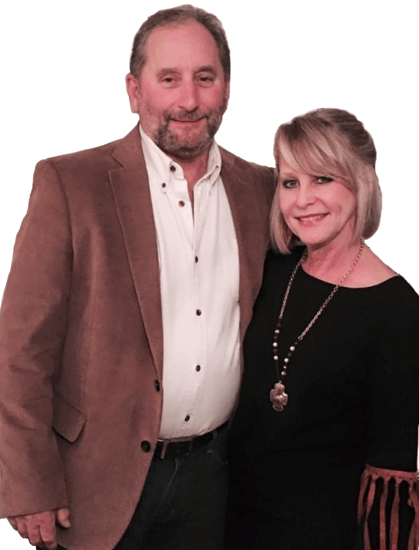 Mark and Susan - Owners of the Wineyard